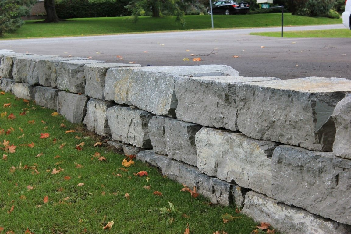 Image Result For Armour Stone Driveway Retaining Wall