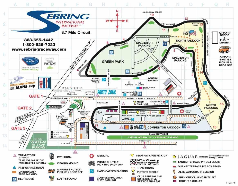 Sebring Raceway Sebring Raceway Racing Circuit Race Track
