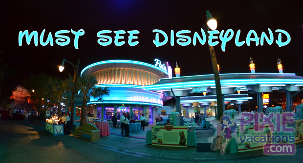 Disneyland, what to expect and how it compares to Walt Disney World. #pixievacations #disneyland #disney