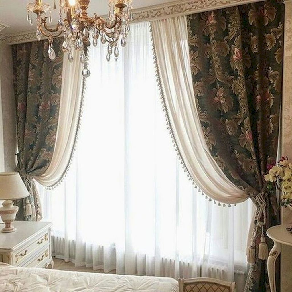 Trendy Design Curtains Can Change Your Residence Miraculously With Images Bedroom Curtains With Blinds Bedroom Furniture Design Dining Room Curtains