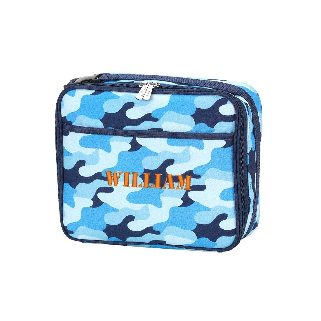 Personalised Name Boys Children/'s School Lunchbox Back to school Lunch bag
