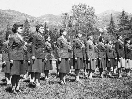 women military ww2 | formation of the Women Army Corps in Italy