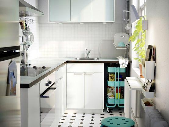 cucina ikea con isola   Kitchen   Pinterest   Cucina och Ikea