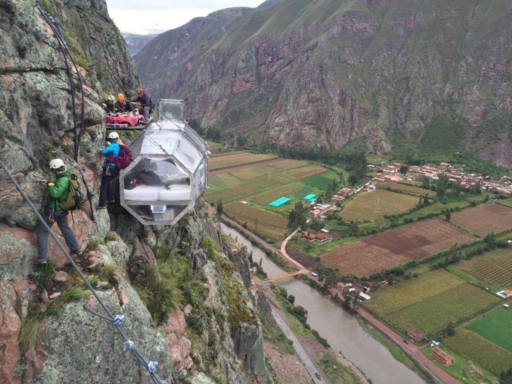Skylodge Adventure Suites Urubamba Ollantaytambo Cusco