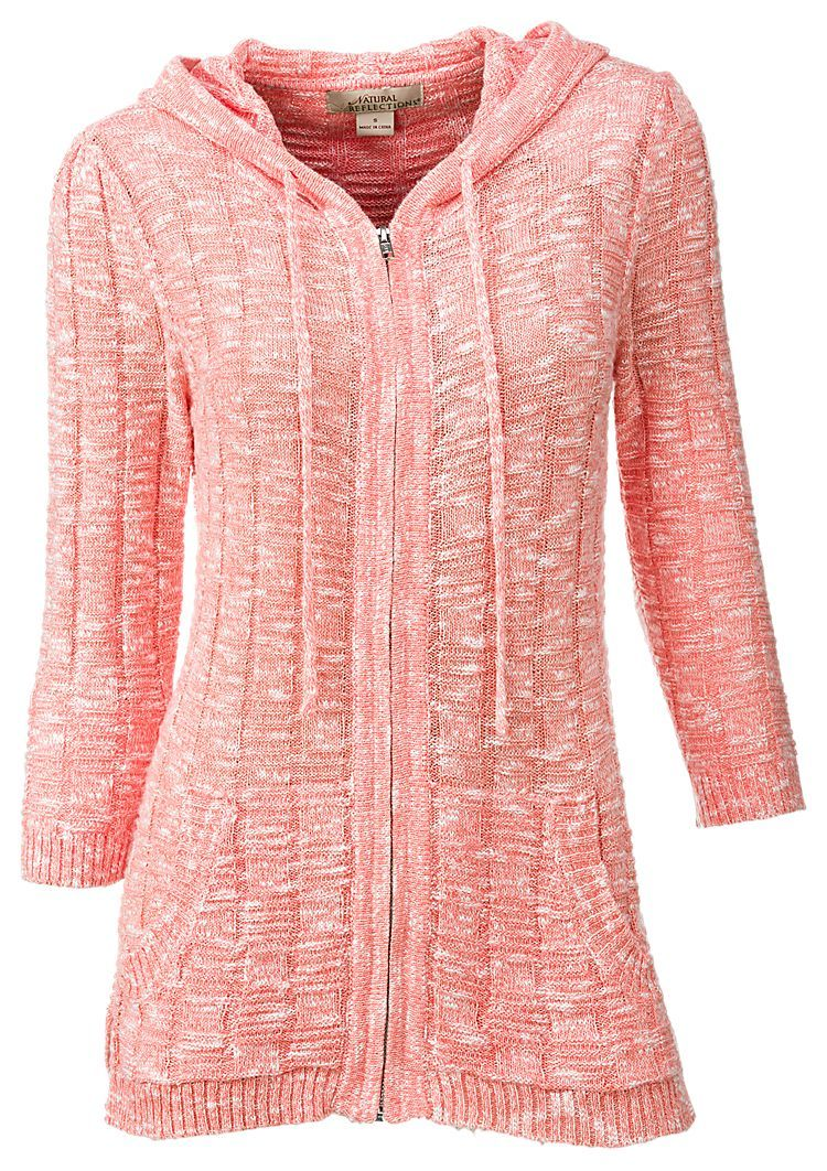 Natural Reflections Twisted Yarn Hooded Sweater for Ladies | Bass Pro Shops