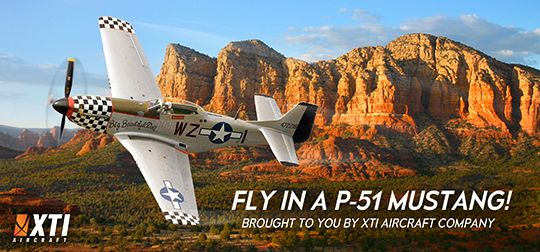 ENTER TO WIN A FLIGHT IN A P-51 MUSTANG!