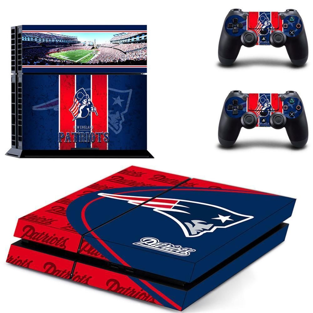 New England Patriots Skin For Sony Playstation 4