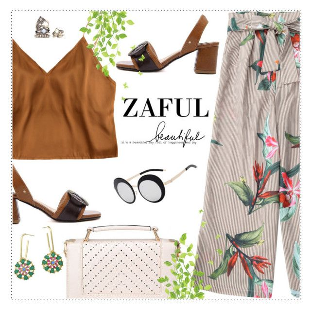 """""""Zaful summer look"""" by wannanna ❤ liked on Polyvore"""
