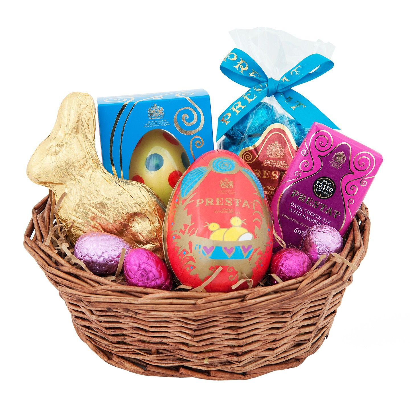 Prestat luxury chocolates hip hop bunny in a basket royal mr prestat luxury chocolates hip hop bunny in a basket negle