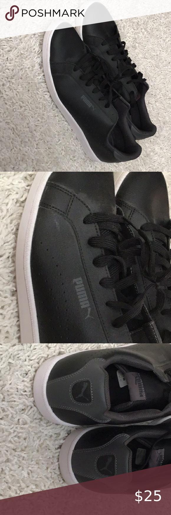 Puma, Men s shoes, Shoes black leather