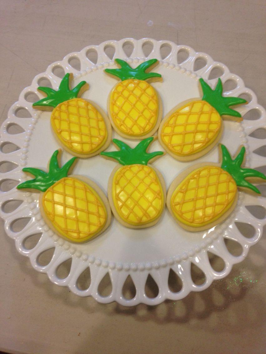 •Pineapple Cookies•