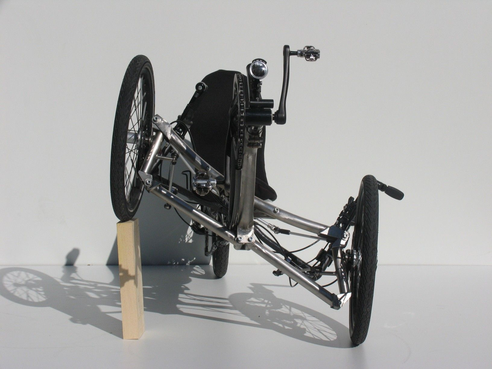 trike eigenbau mit neigetechnik recumbent trikes. Black Bedroom Furniture Sets. Home Design Ideas