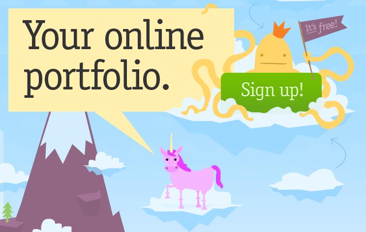 8 Sites para Fazer seu Portfólio Online | Des1gn ON - Blog de Design e Inspiração.