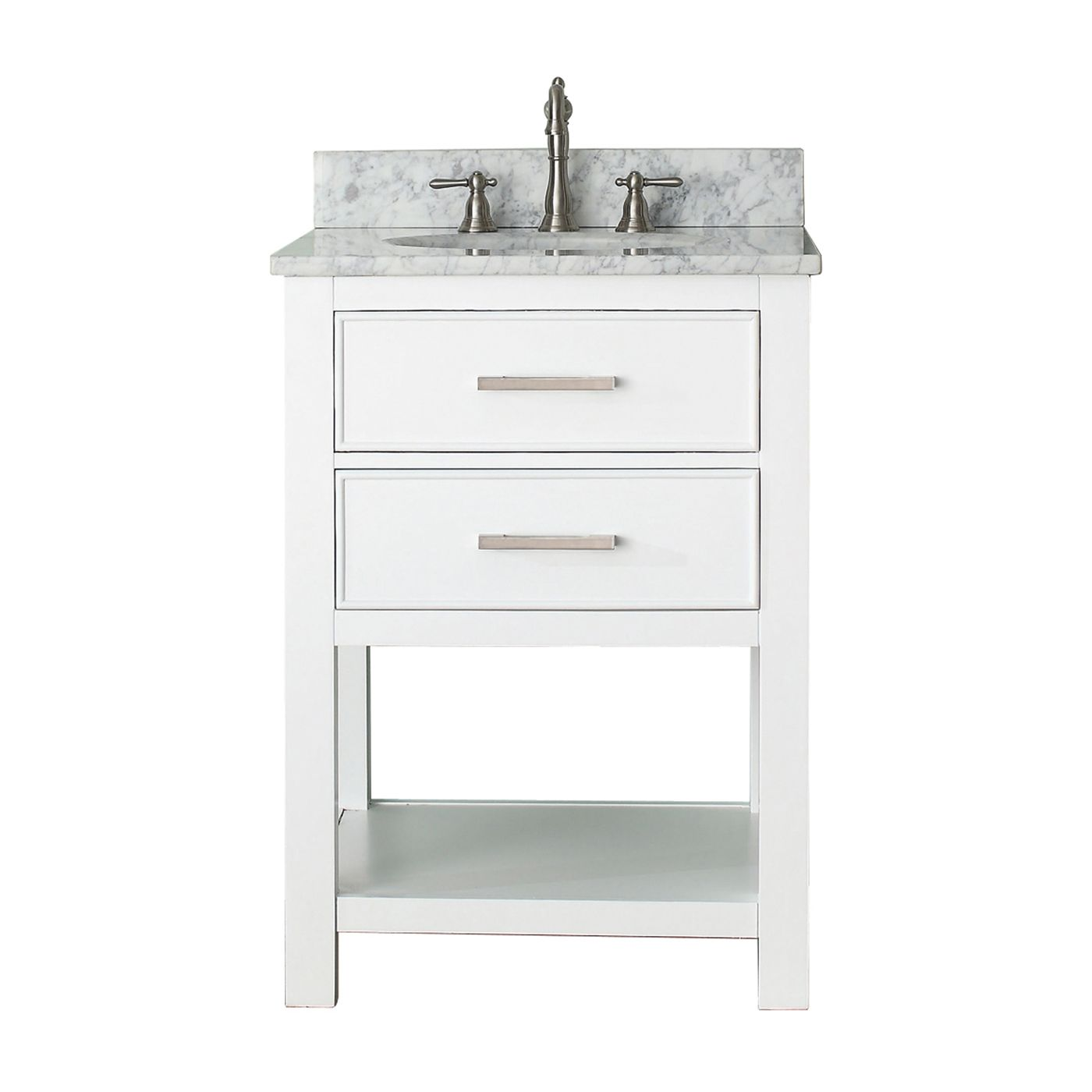 shop avanity brooks vs24 brooks 24 in bathroom vanity on lowes vanity id=29331