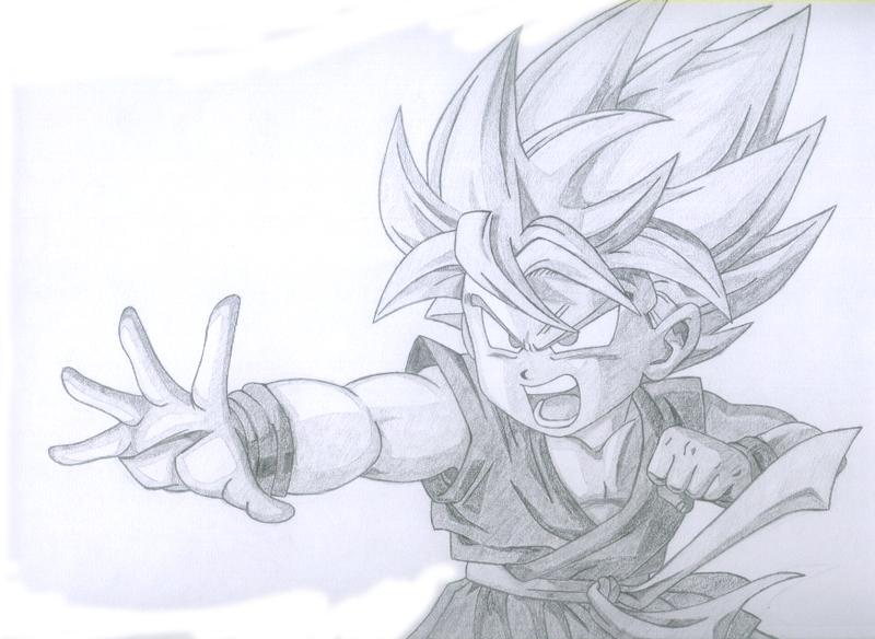 Resultado de imagen de goku drawings