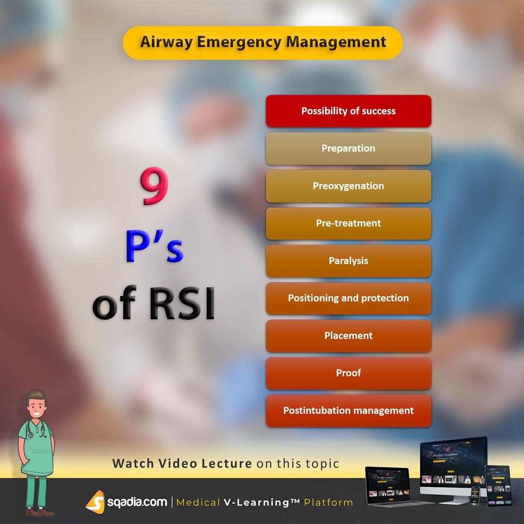 Airway emergency management emergency management airway
