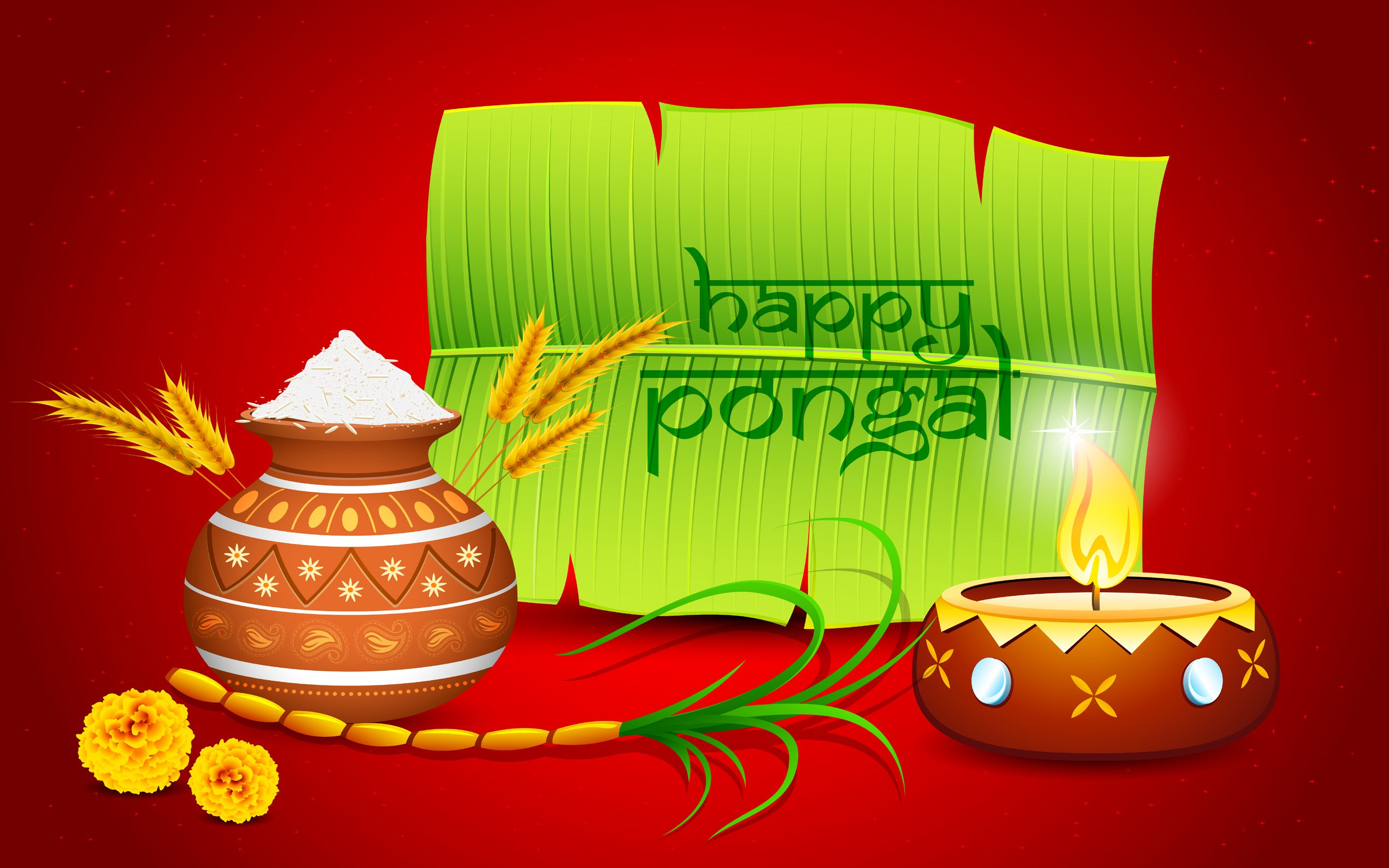 Nice Greetings For Pongal Festival In 1080p Happy Pongalwishesnew