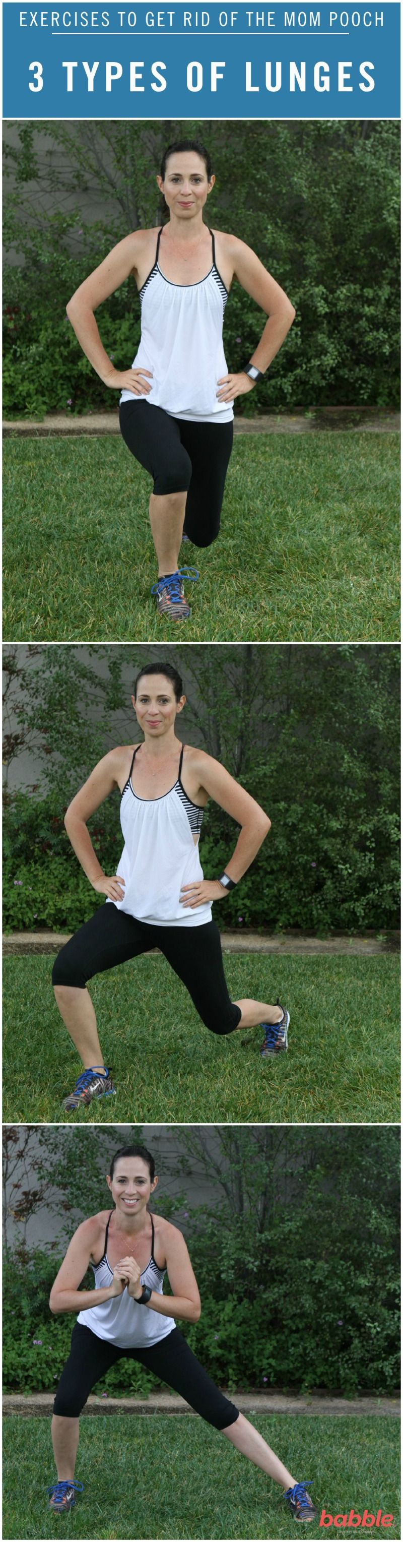 8 exercises to get rid of your mom tummy workout for