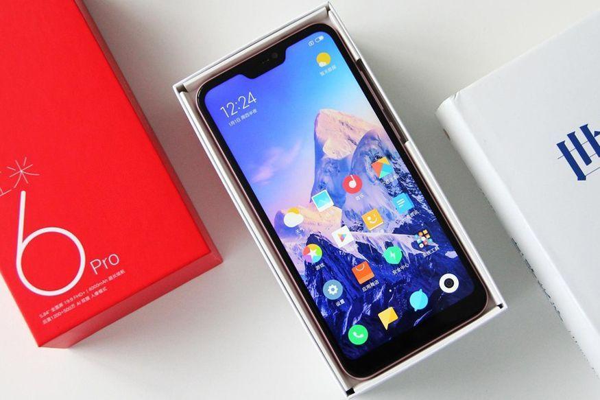 الجوال شاومي Redmi 6 Pro شبيه ايفون اكس الجديد Smartphone Phone