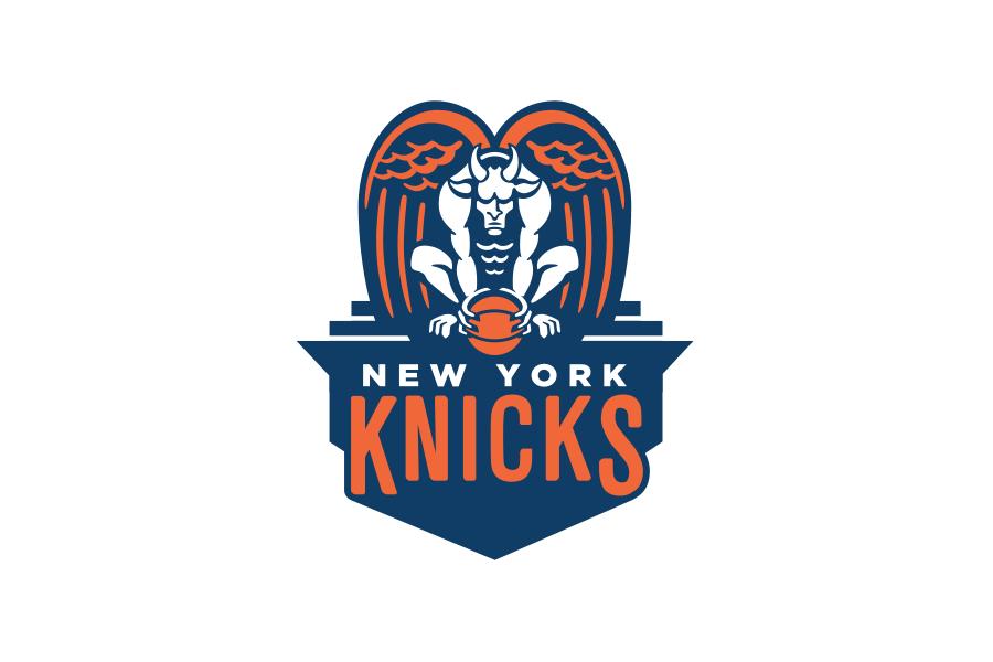 New York Knicks Nba Basketball Badge. Basketball