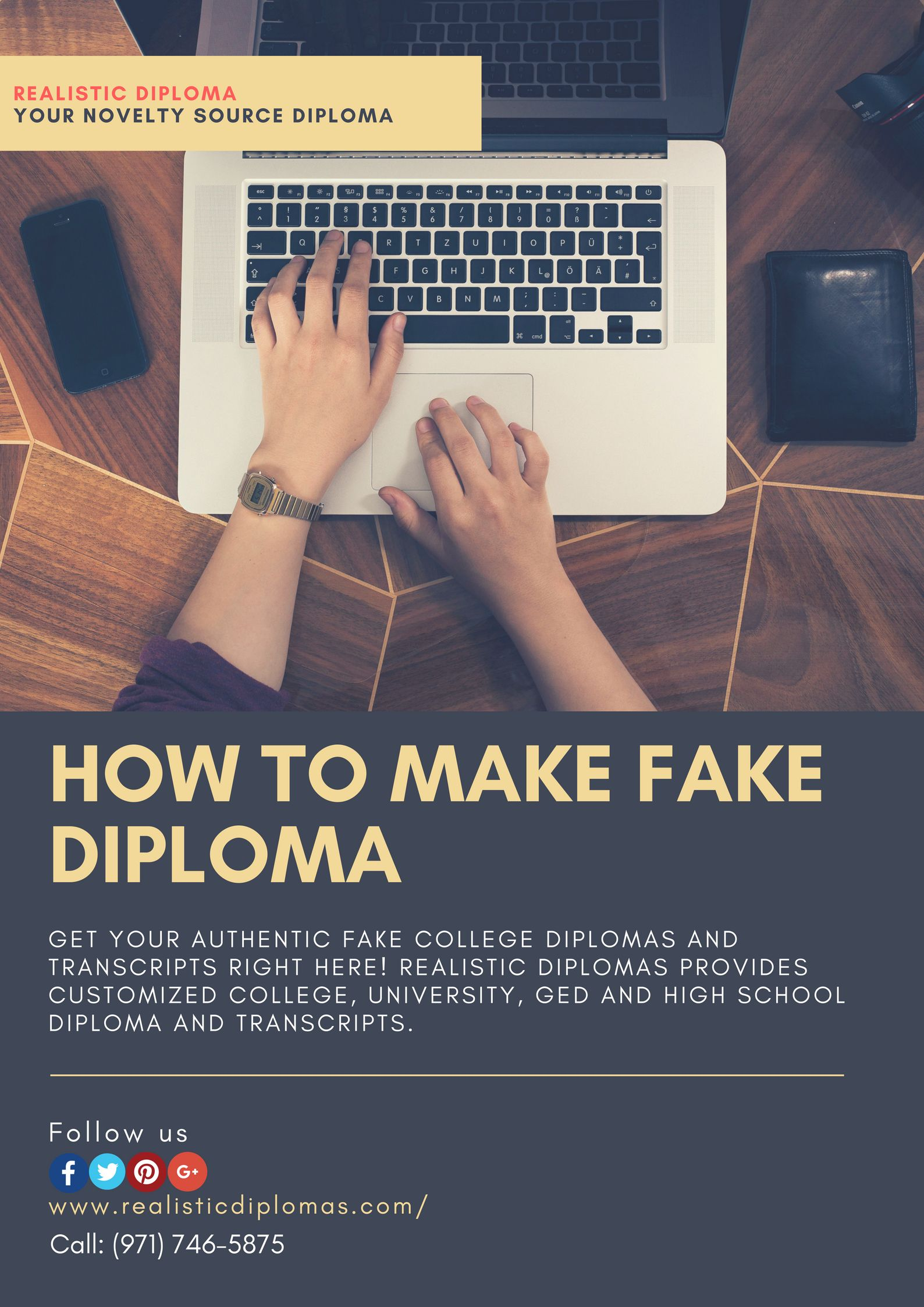 Can you make a fake diploma