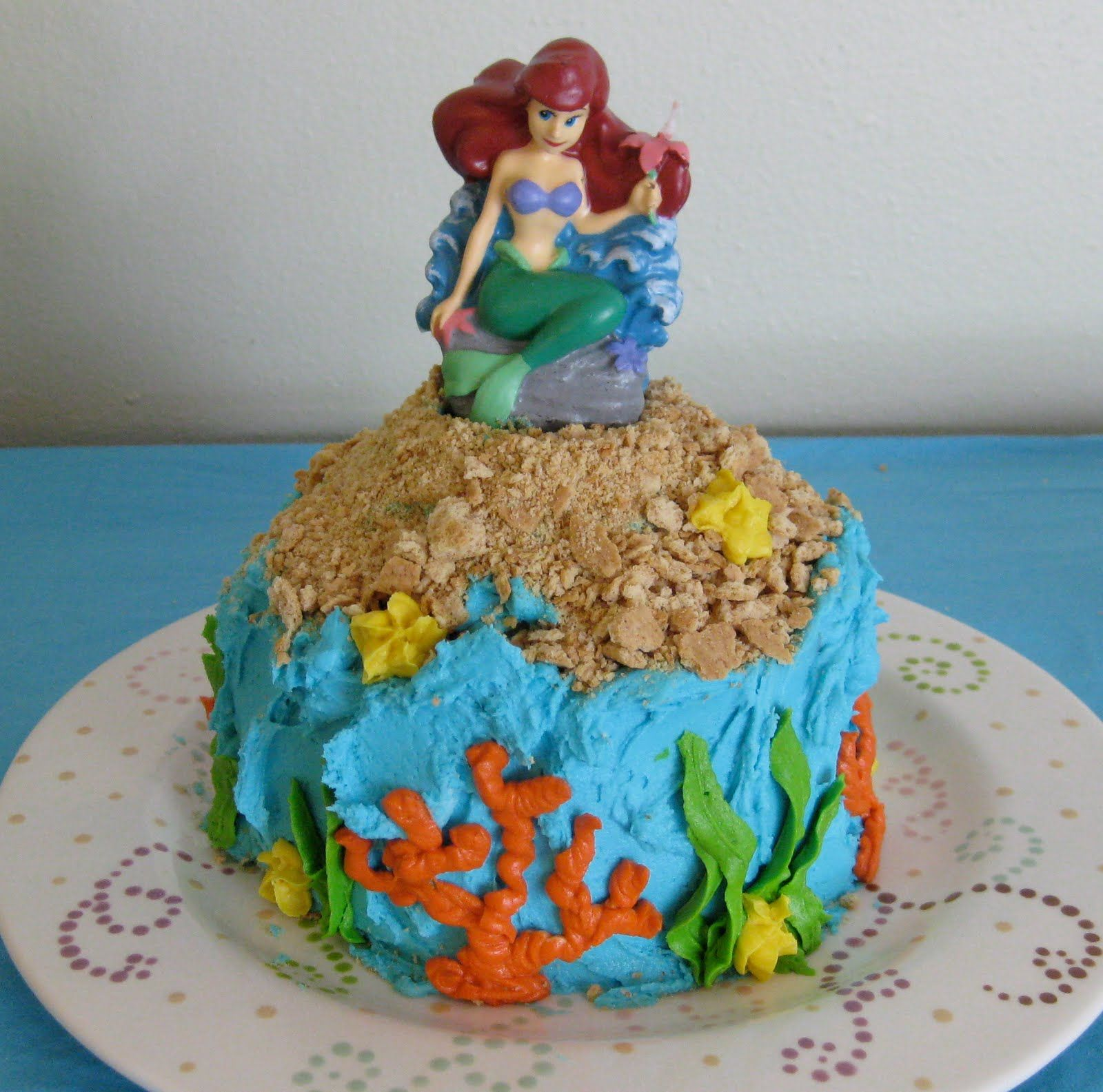 mermaid cake Google Search Mermaid birthday cakes