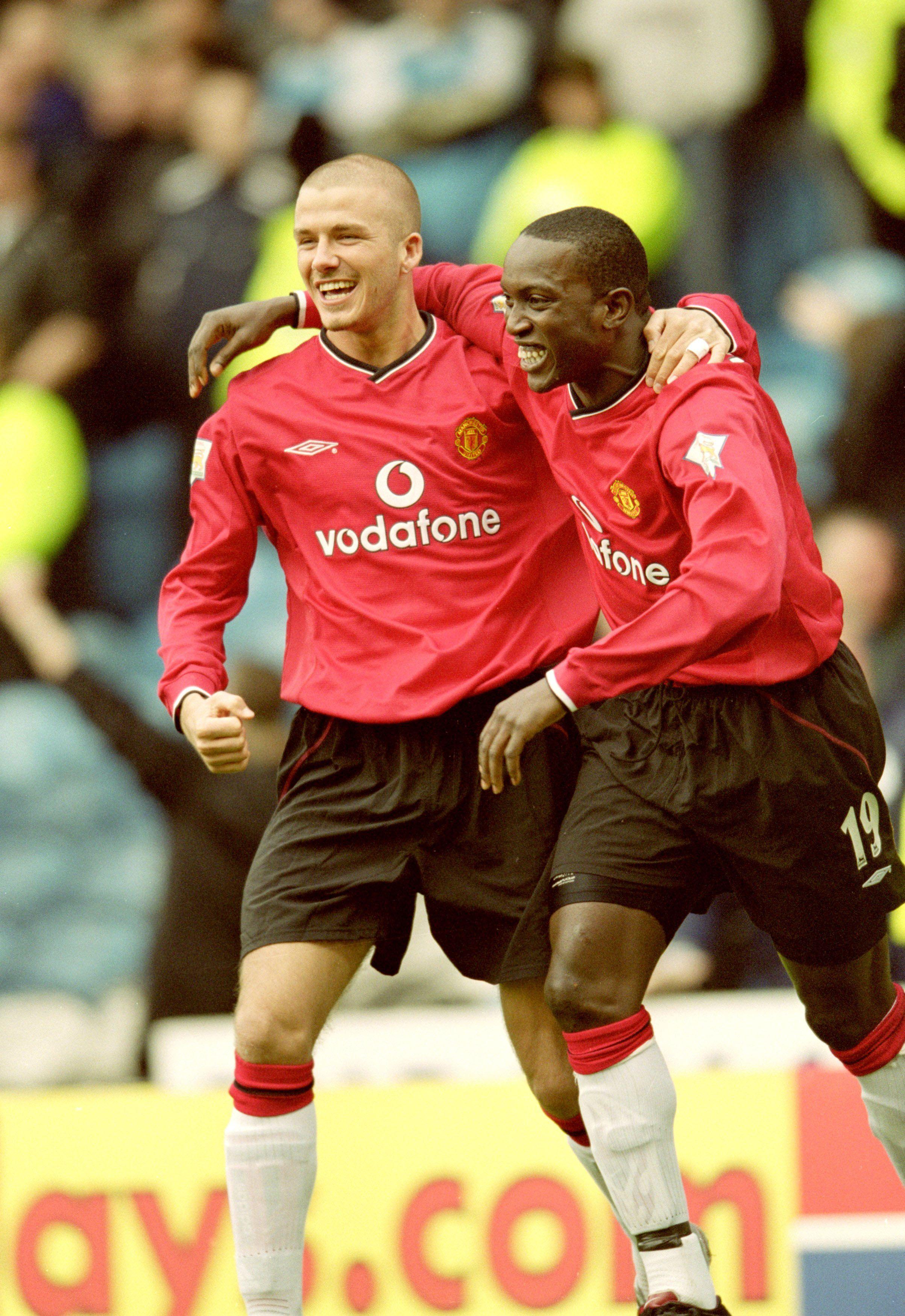 Beckham and Yorke Manchester united legends, Manchester