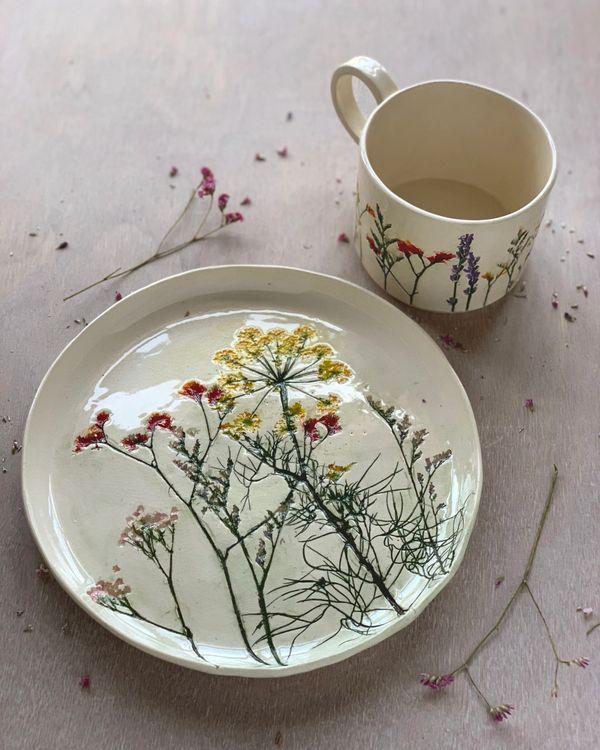 Hessa Al Ajmani #ceramicpottery