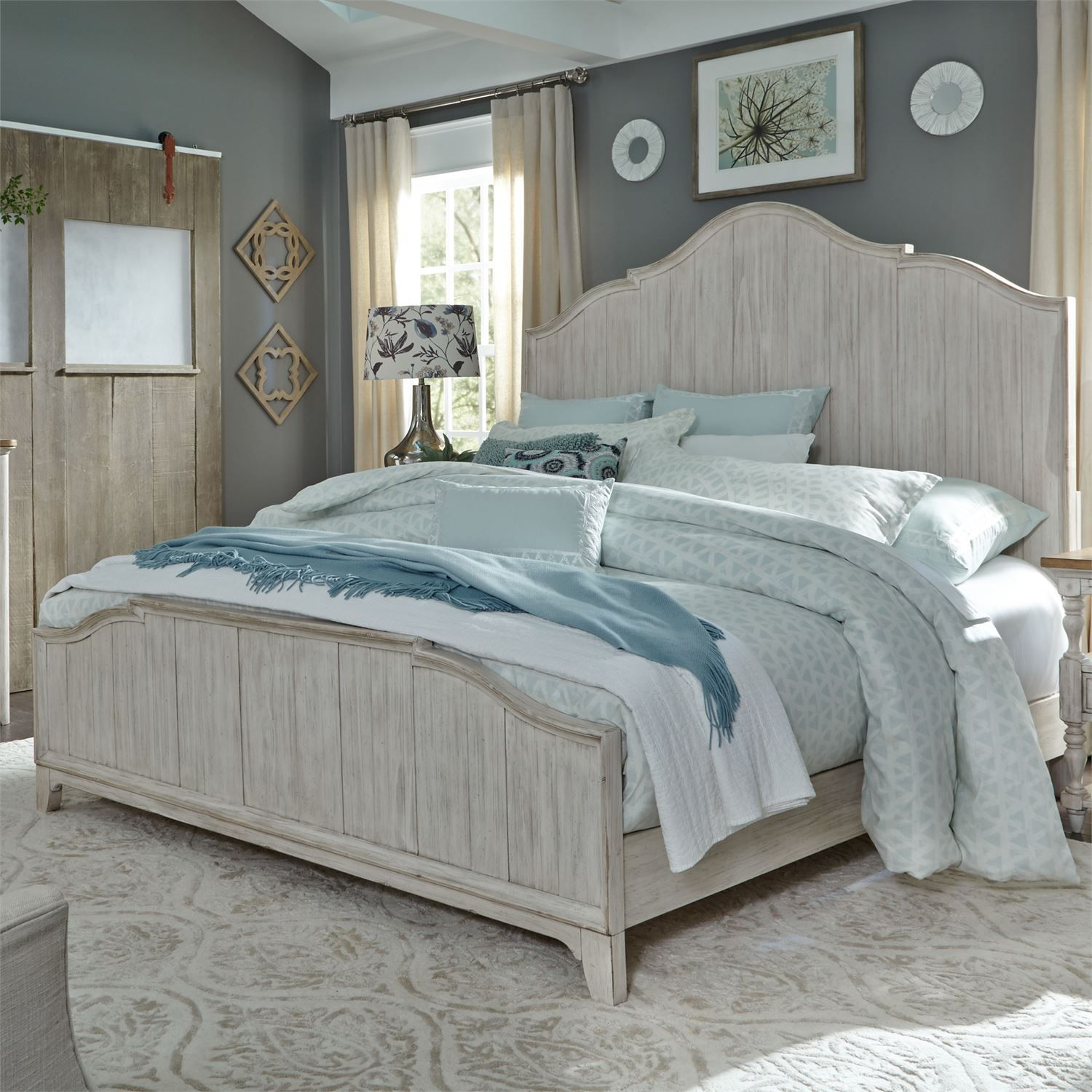 Queen Panel Bed by Liberty Furniture. Liberty Furniture is