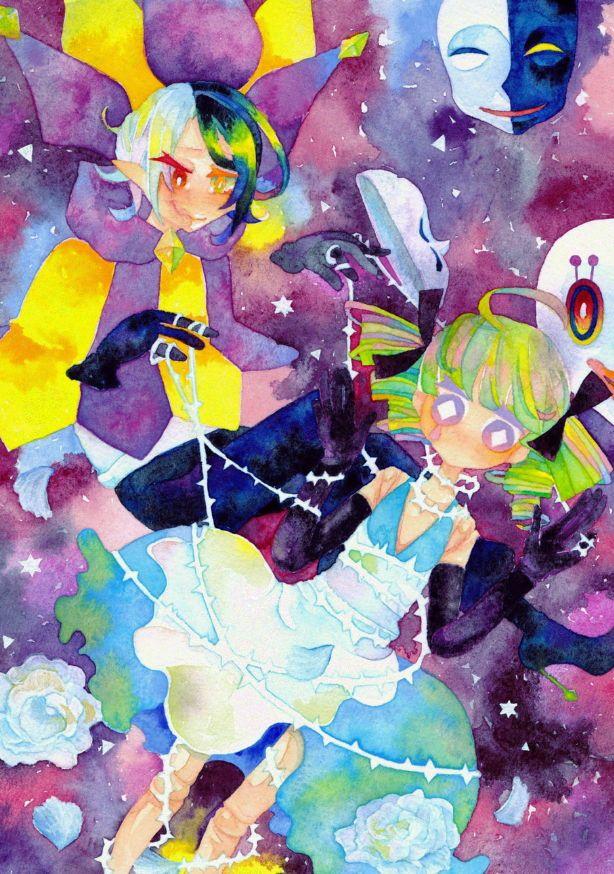 "microphone125 "" Fuente Pixiv Artista 蒼木 ゆう "" Anime"