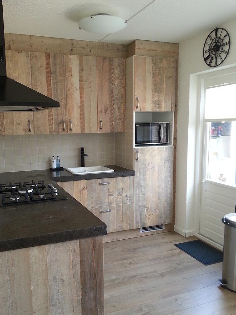 Eiken Keuken Restylen : keukensteigerhout Google zoeken Keuken Steigerhout