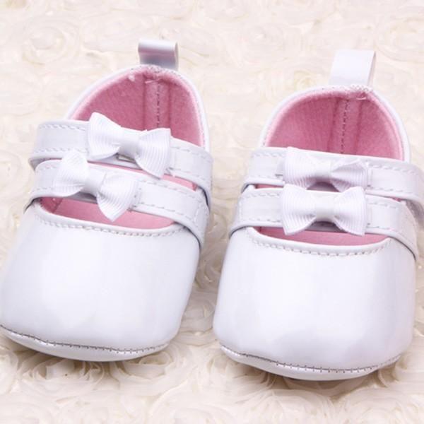 Buty Buciki Chrzest 11 11 5cm Biale Lakierki Pl 5276013833 Oficjalne Archiwum Allegro Leather Baby Shoes Toddler