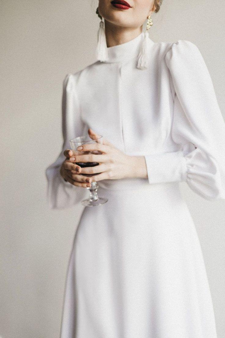 Brides Cherubina Ellespain Cocktail Dress New 2020 Mutevazi Kiyafetler Sifon Gelinlikler Kiyafet