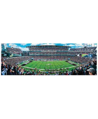 5ee11463 MasterPieces Puzzle Company Philadelphia Eagles 1000 Piece Panoramic ...