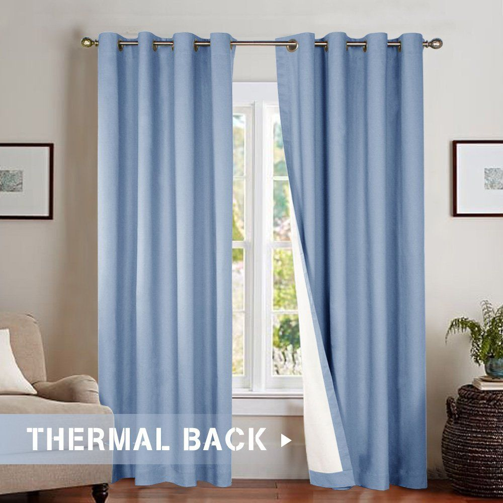 19 99 Per Panel Amazon Com Blackout Curtains For Bedroom 95