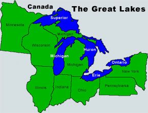 I want to go to all of the Great lakes...geographic bucket list ...