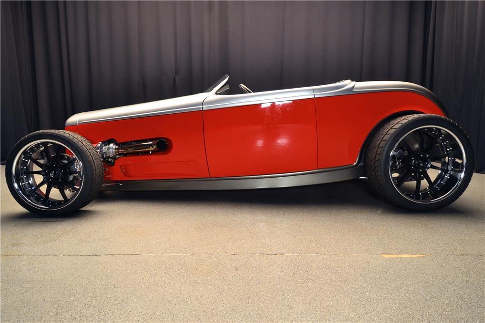 1932 ford custom roadster barrettjackson auction