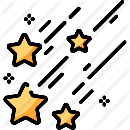 Falling Star Free Vector Icons Designed By Freepik Vector Icon Design Free Icons Icon Design