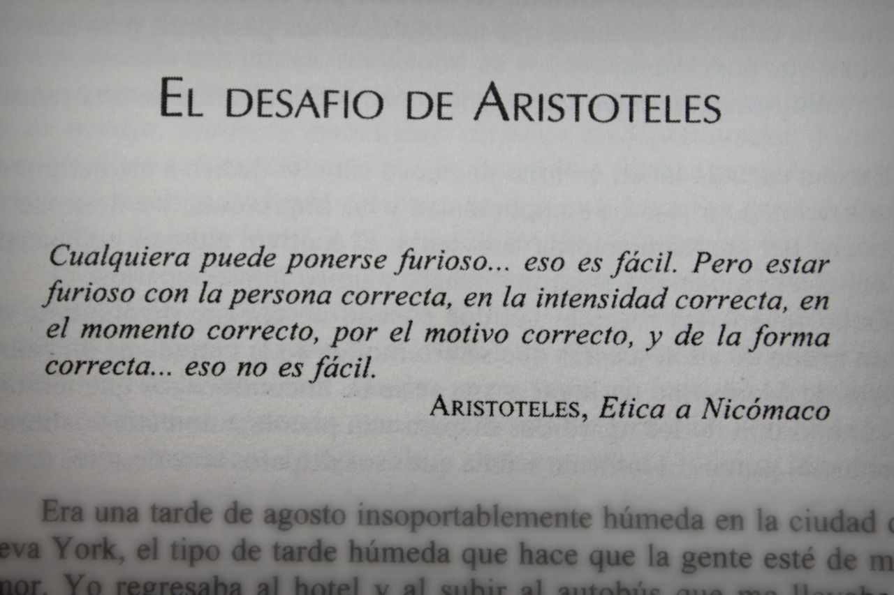Frase de Aristóteles