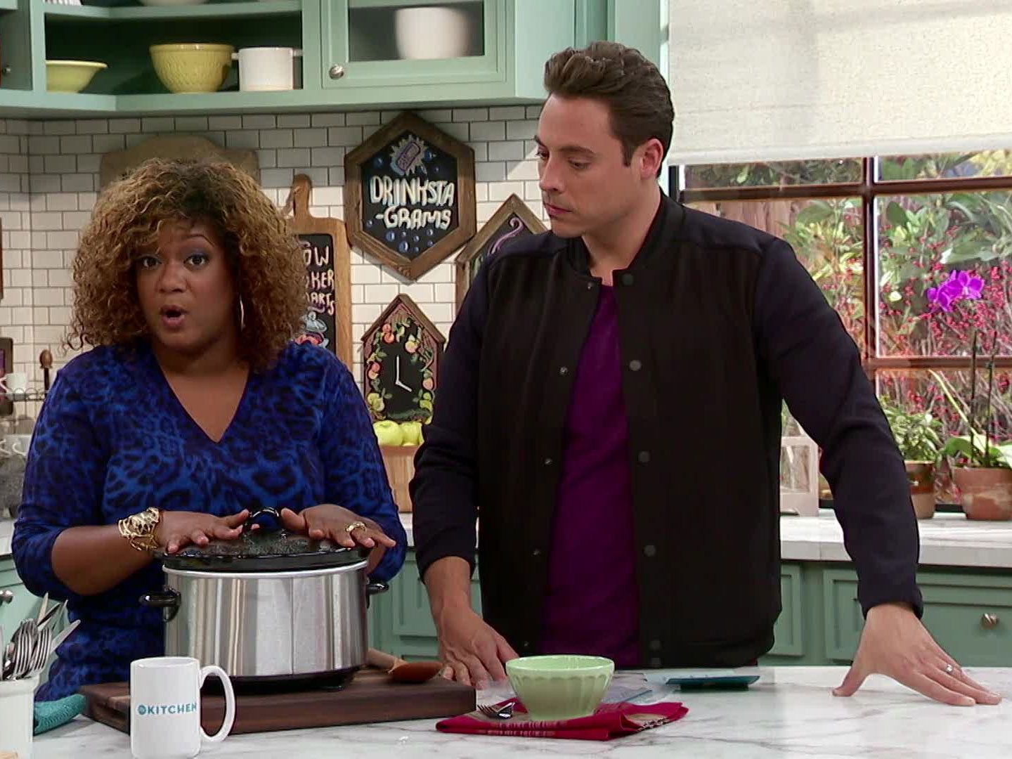 The Kitchen Hosts the kitchen co-hosts' top tricks of the trade | sunny anderson