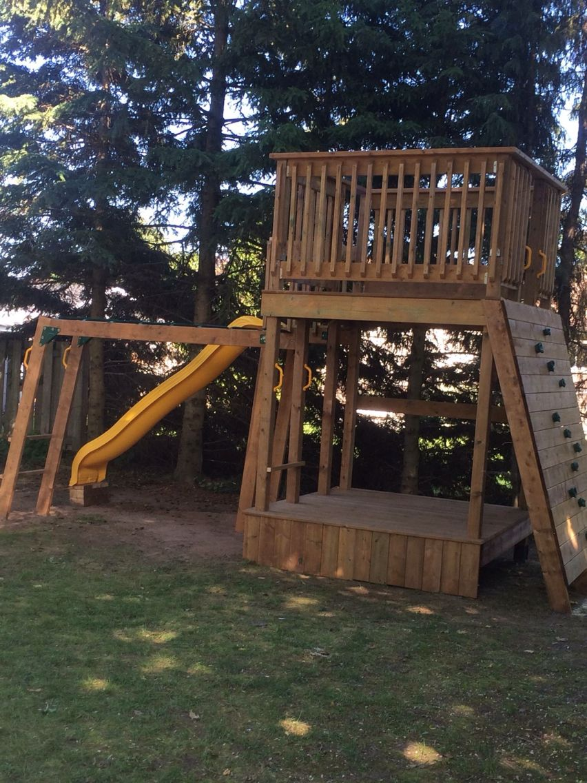 Awesome homemade jungle gym, #junglegym, #playstructure, # ...