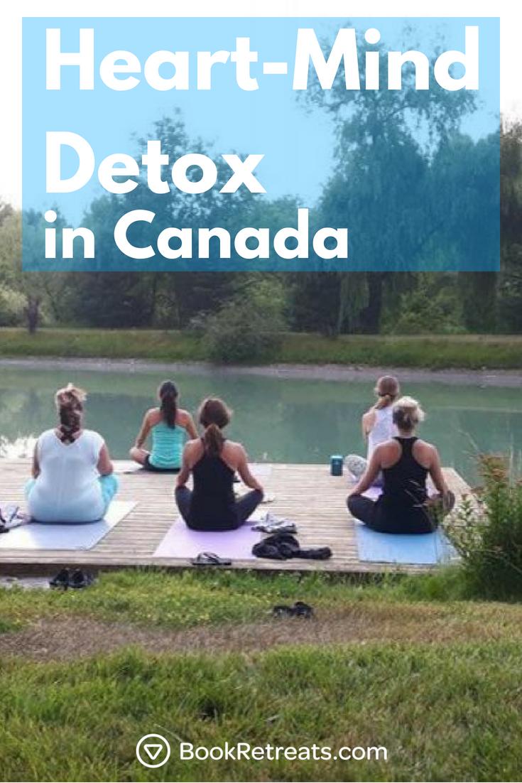 3 Day Heart Mind Detox Weekend Retreat In Ontario Canada Mind Detox Weekend Detox Mindfulness