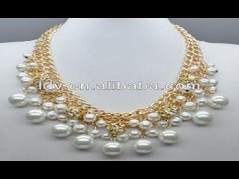 3761d03779b3 Como hacer collares de perlas paso a paso - Collares de perlas modernos