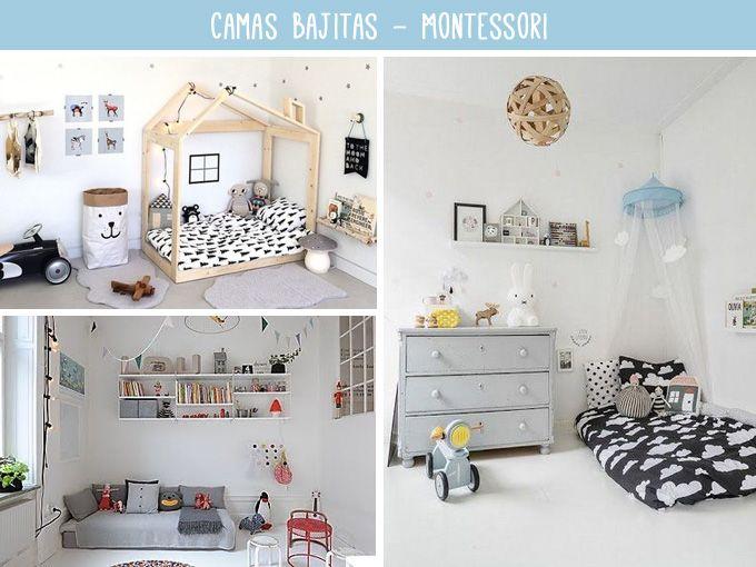 Habitaci n montessori para ni os decoraci n infantil for Decoracion habitacion infantil montessori