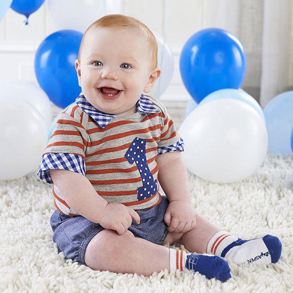 9c945fd8b Baby Aspen My First Birthday 3 Piece Dapper Dude Outfit | Baby Aspen ...