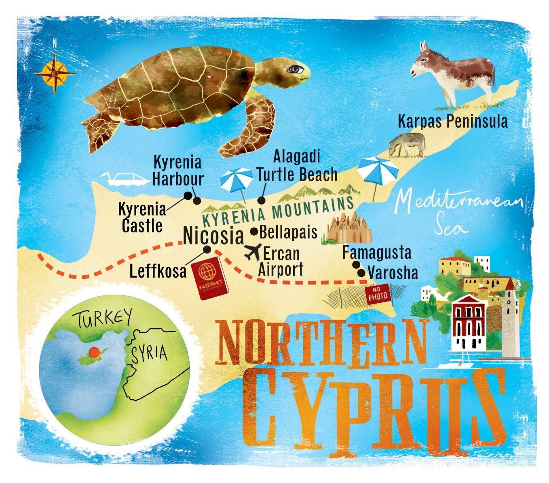 Buse Dinc Adli Kullanicinin Travel Panosundaki Pin Cyprus