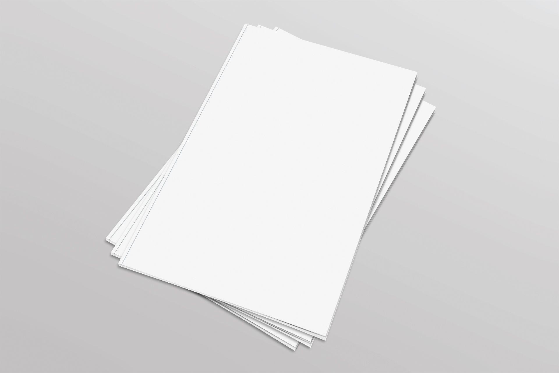 Blank Magazine Pile Pinterest Mockup Mockup Templates