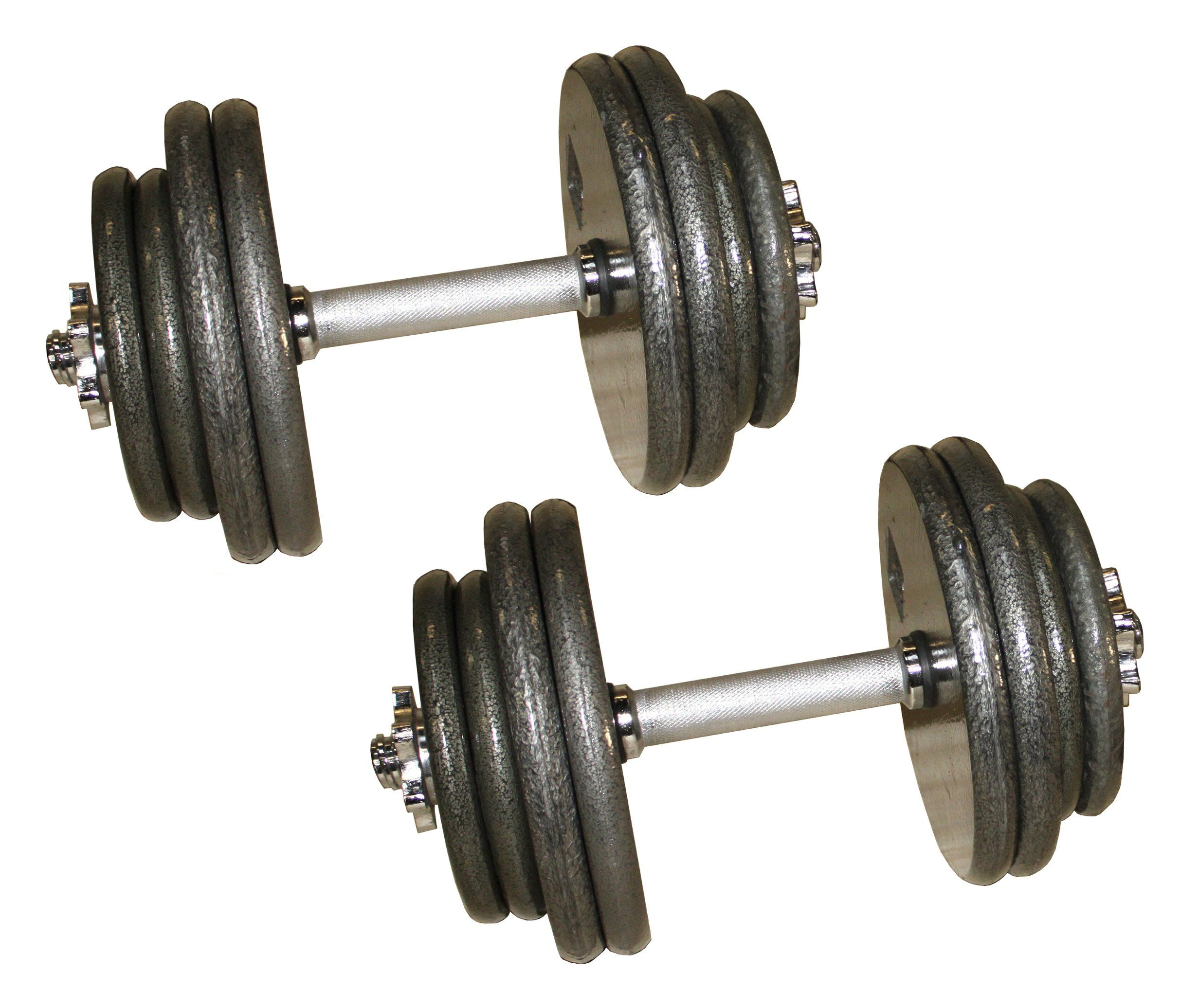 Gray Adjustable Dumbbells 40 45 50 55 60 80 LB 40 Lbs *** Check Out The  Image By Visiting The Link.