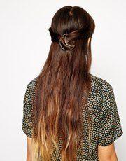 ASOS Moon Hair Brooch