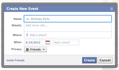 setting up Facebook Events  http://buildingabrandonline.com/sherryhelps/facebook-events/